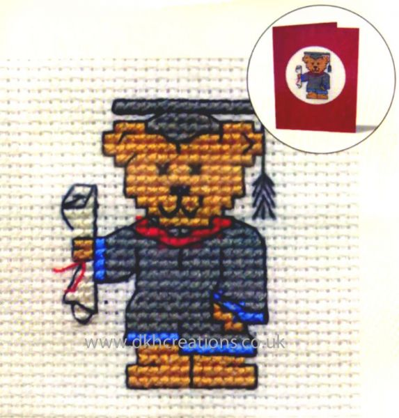 Graduation Card Cross Stitch Kit